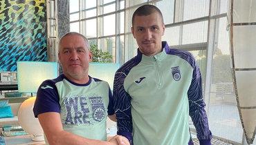 Олег Иванов подписал контракт на1,5 года с «Уфой»