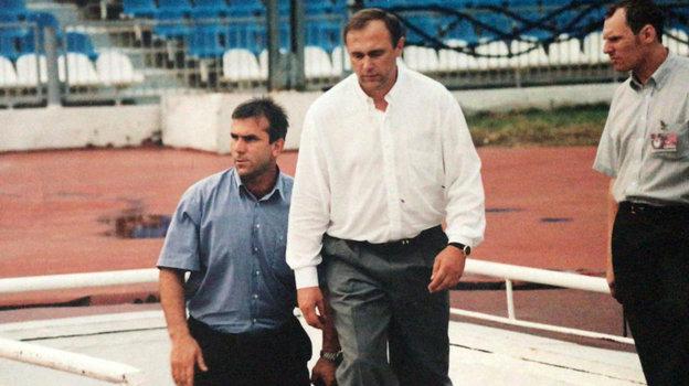 Авалу Шамханов и Олег Долматов. Фото из личного архива Авалу Шамханова