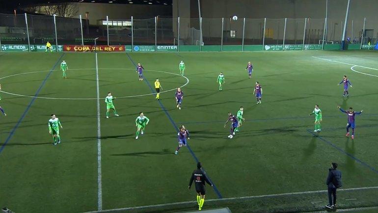 Трансляция матча Кубка Испании «Корнелья»— «Барселона».
