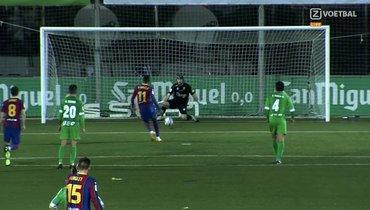 «Барселона» дважды незабила спенальти клубу 3-го дивизиона Испании