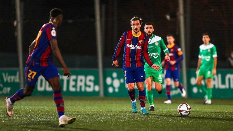 21января. «Корнелья»— «Барселона»— 0:2. Фото Twitter