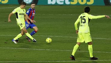 Гол вратаря неспас «Эйбар» отпоражения вматче с «Атлетико»