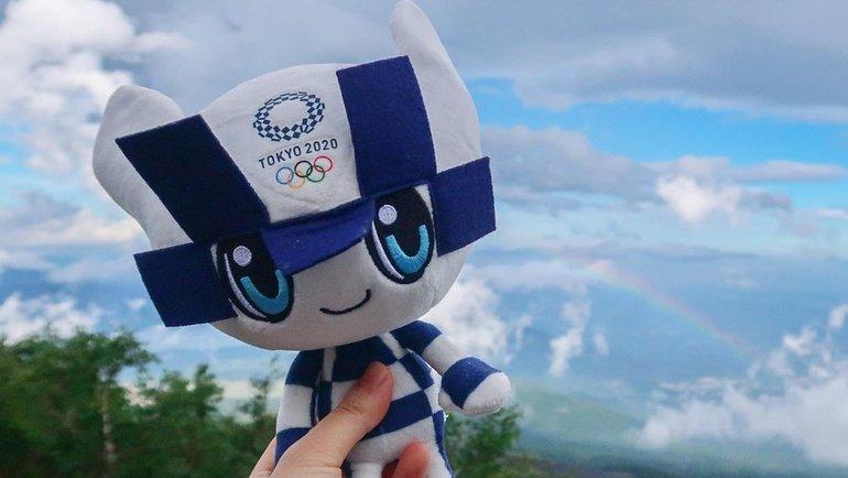Символ Олимпийских игр-2020. Фото Instagram