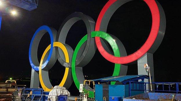 Олимпийские кольца. Фото Instagram