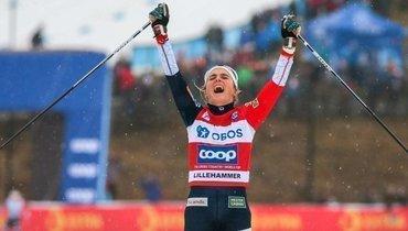 Йохауг выиграла скиатлон наэтапе Кубка мира вЛахти, Непряева— 6-я