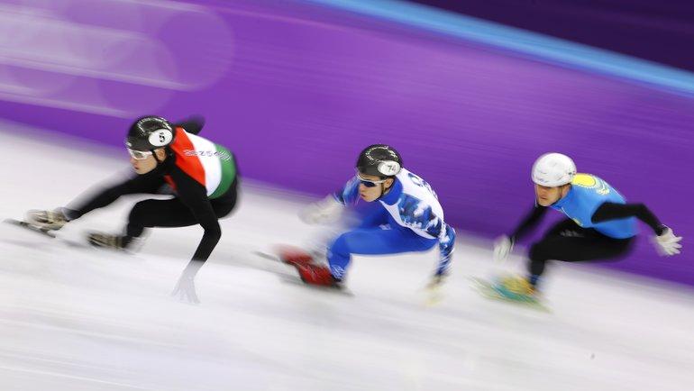 Ивлиев стал чемпионом Европы пошорт-треку надистанции 500 метров. Фото Reuters