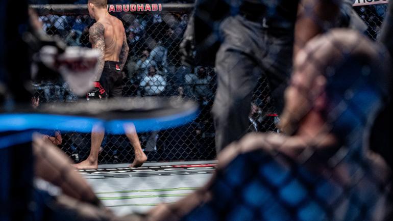 Конор Макгрегор иДастин Порье. Фото UFC