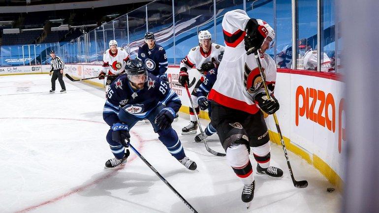 «Виннипег» обыграл «Оттаву» вматче регулярного чемпионата НХЛ. Фото nhl.com