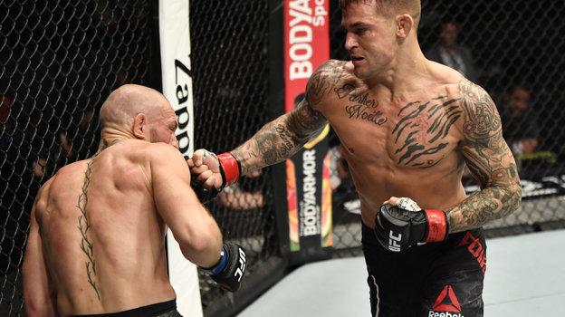 24января. Абу-Даби. UFC 257. Дастин Порье— Конор Макгрегор. Фото Reuters