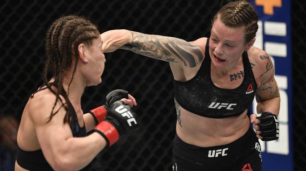 24января. Абу-Даби. UFC 257. Джоанна Калдервуд выиграла уДжессики Ай. Фото Reuters