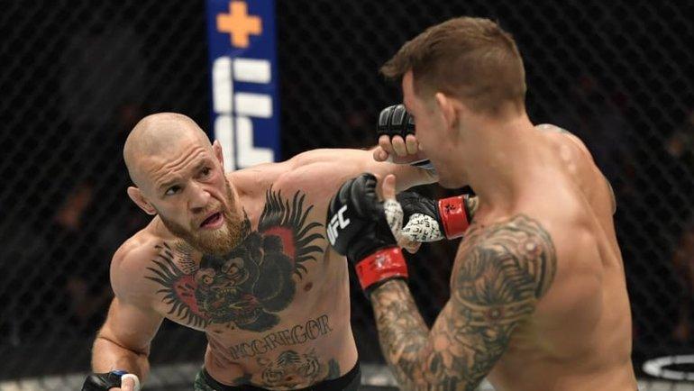 Конор Макгрегор (слева) и Дастин Порье. Фото USA Today Sports