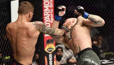 Дастин Порье победил Конора Макгрегора натурнира UFC 257.