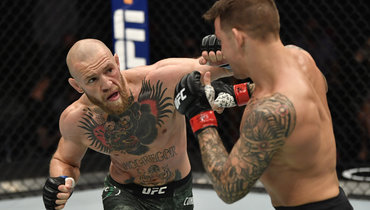 24января. Абу-Даби. UFC 257. Дастин Порье— Конор Макгрегор.