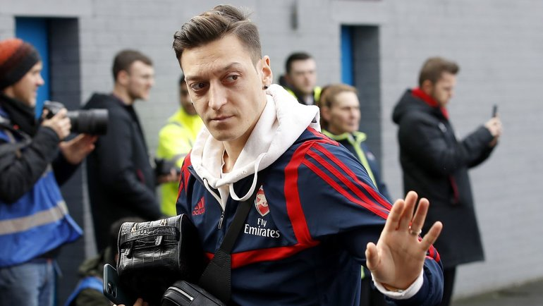 Месут Езил. Фото Sky Sports.