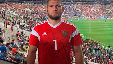 Хабиб хочет вфутбол. Сборная России и «Анжи» отреагировали