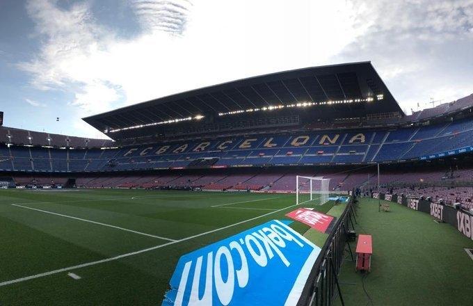 Стадион «Барселоны» «Камп Ноу». Фото Football Espana.