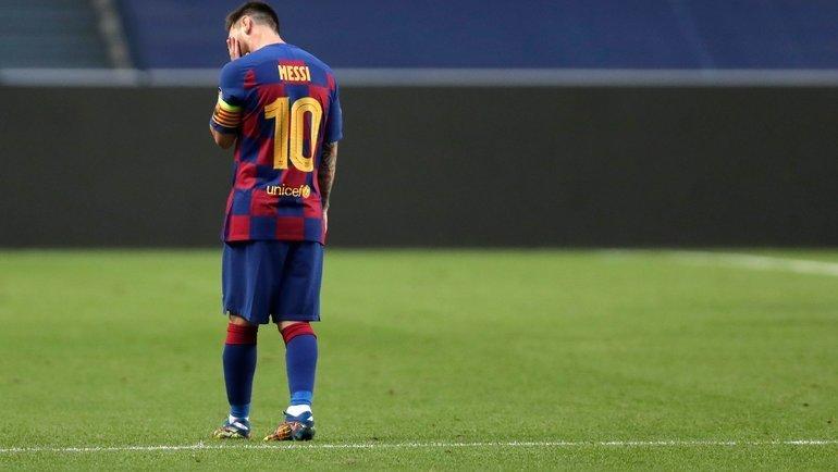 Форвард «Барселоны» Лионель Месси. Фото AFP