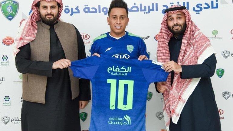 Бывший игрок «Краснодара» Куэва продолжит карьеру вСаудовской Аравии