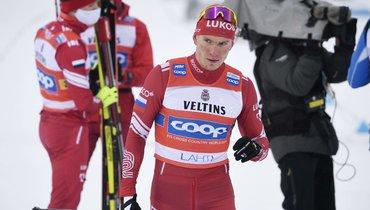 Канадский лыжник раскритиковал поступок Большунова вЛахти