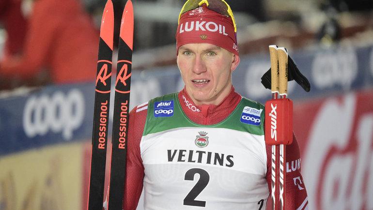 Большунов рассказал, почему столкнулся сфинским лыжником Маки наКубке мира