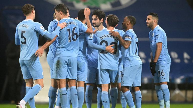 26января. «Вест Бромвич»— «Манчестер Сити»— 0:5. Фото Twitter