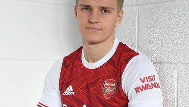 Эдегор стал игроком «Арсенала»