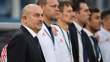 Черчесов поздравил свой тренерский штаб с10-летием совместной работы