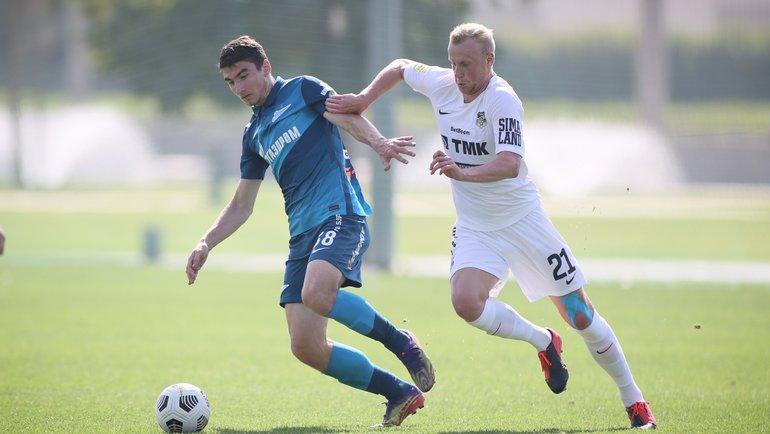 Леон Мусаев (слева). Фото Вячеслав Евдокимов, ФК «Зенит»