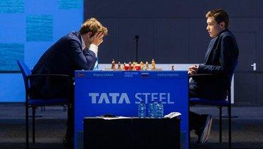 Есипенко победил Карлсена иидет вторым вВейк-ан-Зее
