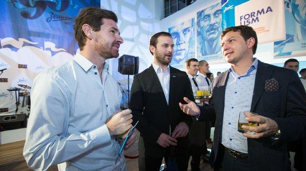 Андре Вилла-Боаш и Георгий Черданцев. Фото из личного архива, ФК «Зенит»