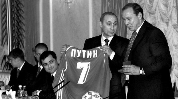 Как «Спартак» наградили золотыми медалями вКремле 20 лет назад