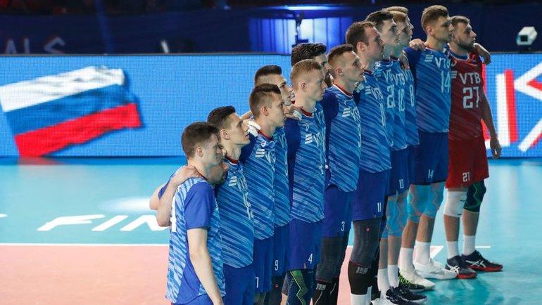 Россия может принять всю волейбольную Лигу наций. Фото AFP