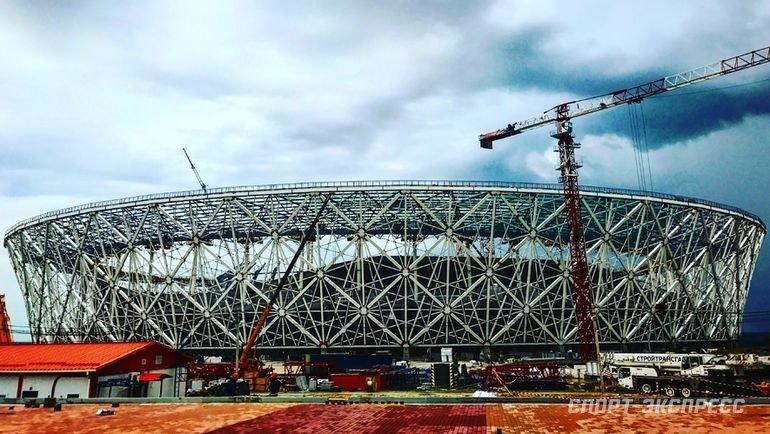 "Стадион ""Волгоград Арена"". Фото Дмитрий Симонов, ""СЭ"""