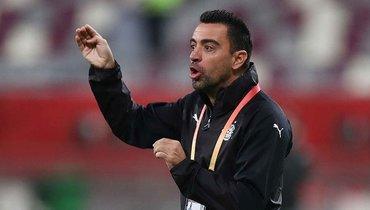 Хави признан лучшим тренером чемпионата Катара вянваре