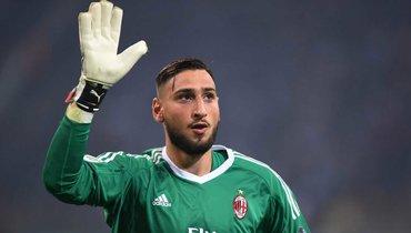 «Милан» недоговорился сДоннаруммой опродлении контракта