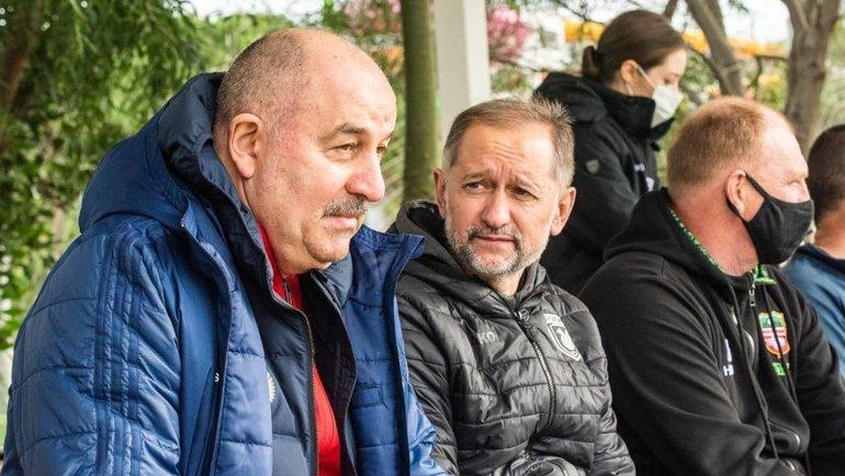 Станислав Черчесов. Фото сборная России