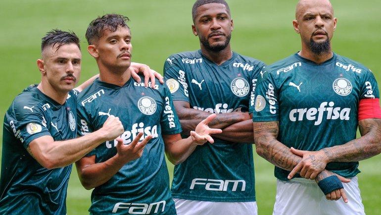Игроки «Палмейрас». Фото Twitter