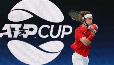 Рублев вывел Россию вперед вматче сЯпонией наATP Cup
