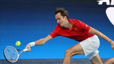 Медведев победил Нисикори ивывел Россию вполуфинал турнира ATP Cup
