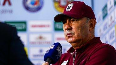 Уремович: «Бердыев хочет тренировать большой клуб. Унего очень большие амбиции»