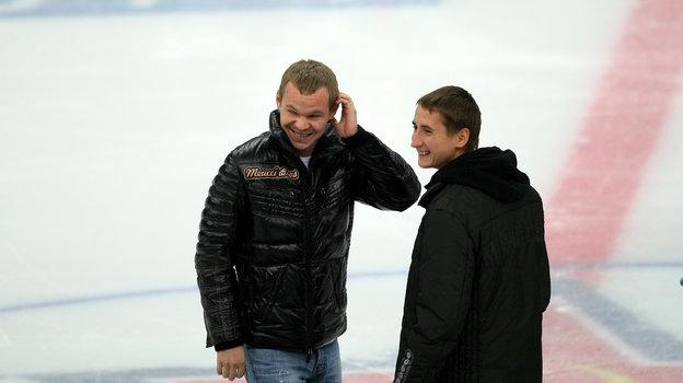 Александр Анюков и Владимир Быстров. Фото Владимир Беззубов, photo.khl.ru