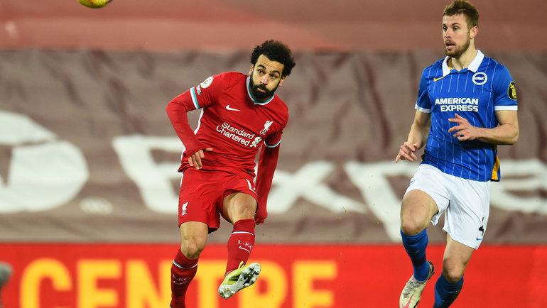 Мохамед Салах (слева). Фото ФК «Ливерпуль».