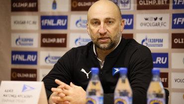 Адиев покинул пост главного тренера «Чайки»