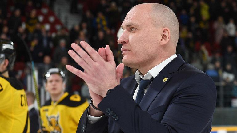 Андрей Разин. Фото ХК «Северсталь».