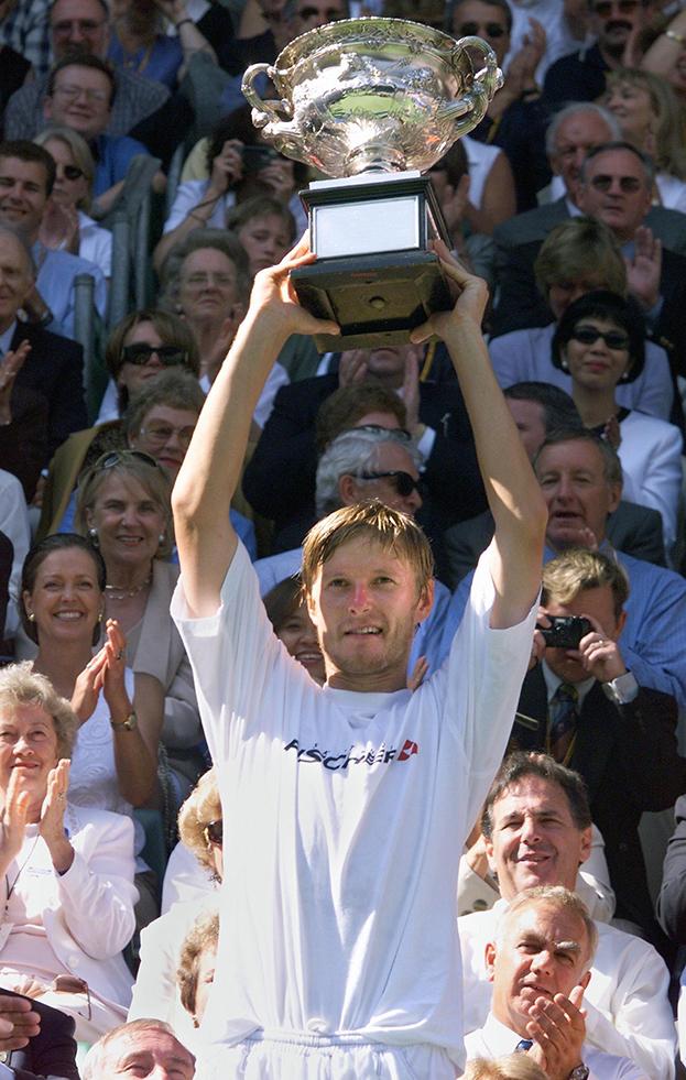 1999 год. Евгений Кафельников. Фото AFP
