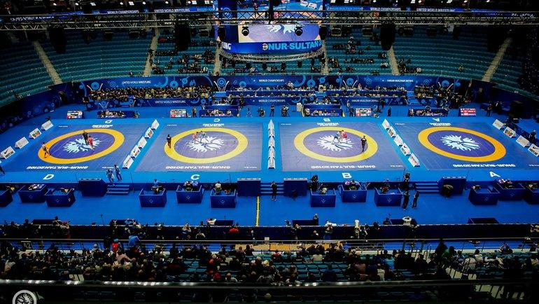 Чемпионат мира поспортивной борьбе. Фото UWW.