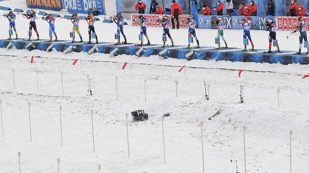Биатлон: вне России. Фото AFP