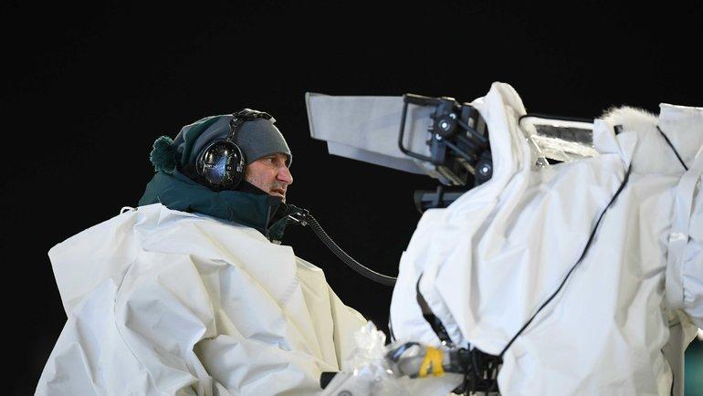 Биатлон наТВ. Фото AFP