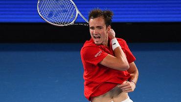 Медведев вывел сборную России вфинал ATP Cup