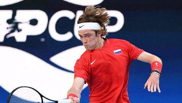 Рублев высказался поповоду соперника пофиналу Кубка ATP